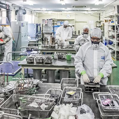 半導体製造装置の洗浄・メンテナンス